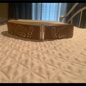 Gorgeous brown belt with cutout detail